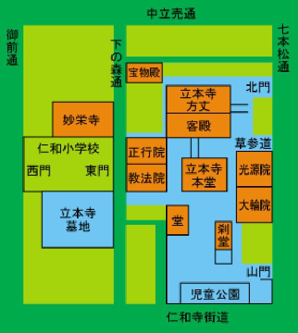 立本寺地図a