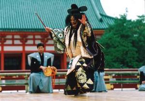 平安神宮 第68回 京都薪能-1